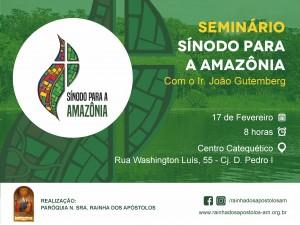 Seminário sobre a Amazônia Redes Sociais